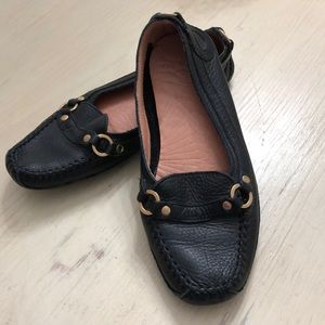 Ted Baker black Driving Shoes Sz 36